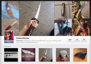 bladesofbelaq Instagram page