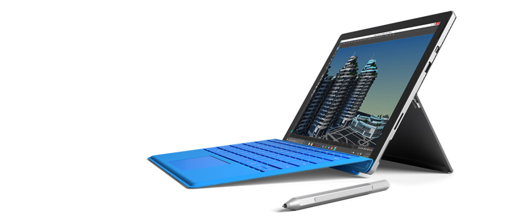 Surface Pro 4 with Type Cover and Pen