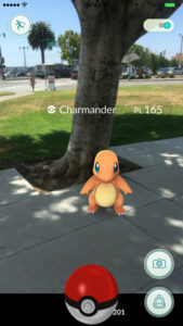 Catching a Charzard