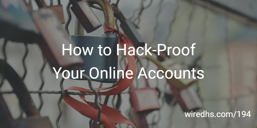 Hack-Proof Accounts