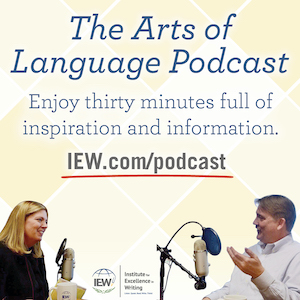 The Arts of Language Podcast. Enjoy thirty minutes full of inspiration and information.